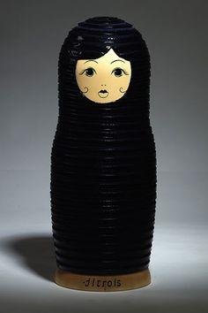 Matrioshka Russian dolls for Vogue Russia NOVEMBER 2008 - Designed by Jitrois