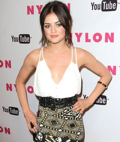 Lucy Hale of Pretty Little Liars #aria
