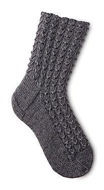 Mock Croc Socks Pattern - Free Knitting Patterns by Susan Lawrence