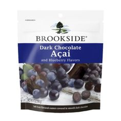 Brookside Dark Chocolate Candy, Acai and Blueberry Flavors, 7 Ounce (Pack of Dark Chocolate Candy, Best Chocolate, Chocolate Flavors, Delicious Chocolate, Acai Berry Juice, Blueberry Juice, Fruit Juice, Chocolate Covered Blueberries, Desserts