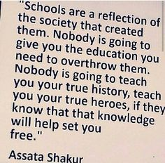 Stellar Assata Shakur — If you go to India you'll learn history and the. Dope Quotes, Girl Quotes, Words Quotes, Assata Shakur Quotes, African American Slavery, Favorite Quotes, Best Quotes, Tupac Makaveli, Word Up