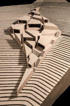 HUACA / ESPACIO Y TERRITORIO | TALLER 15/ FACULTAD DE ARQUITECTURA URP LIMA PERU | Page 3 Render Architecture, Architecture Windows, Architecture Details, Interior Architecture, Architecture Colleges, Architecture Awards, Duggan Morris, Deconstructivism, Casa Patio