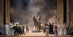 La Stagione d'Opera presenta Nabucco di Giuseppe Verdi, giovedì27 novembre ore 20.30 e sabato 29 novembreore 15.30 al Teatro Grande. Nabucco rappresenta un momento cruciale nella vita professionale di Giuseppe Verdi: un'opera con laquale, come dichiarò egli stesso, si può dire veramente che ebbe inizio la sua carriera artistica. Questotitolo entrò da subito nel novero degli spettacoli di maggior fortuna dell'ambito ...