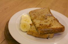 mamacook: No added sugar banana French toast; great for babies, toddlers and adults