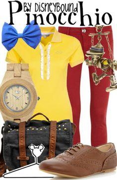 Cute Pinocchio Disneybound