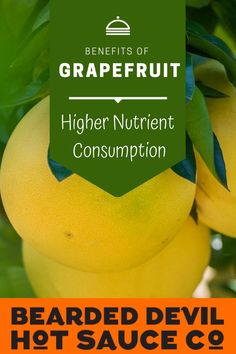 Eating grapefruit regularly is linked to higher nutrient consumption. One study found that women who ate grapefruit had a higher intakes of vitamin C, magnesium, potassium, dietary fiber, and improved diet quality. How To Eat Grapefruit, Spicy Sauce, Hot Sauce, Health Benefits Of Grapefruit, Fruit Sauce, Vitamin C, Fiber, Study, Studio