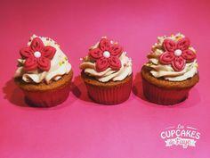 Cupcakes girly au caramel beurre salé
