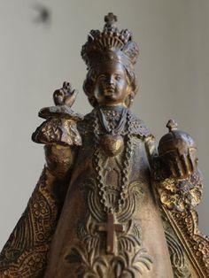 Etsy のInfant Baby Jesus of Prague Antique Religious Statue Vintage Figure /952(ショップ名:GliciniaANTIC)