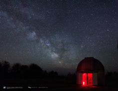 Astrophotographer Scott MacNeill of Frosty Drew Observatory captured the bright galactic center of the Milky Way
