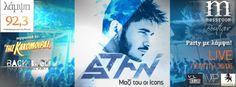 Singers, Greek, Party, Movie Posters, Film Poster, Parties, Singer, Greece, Billboard