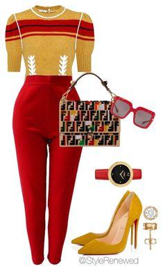 Miu Miu, Versace, Fendi, Christian Louboutin and Dolce&Gabbana Fashion Moda, Look Fashion, Winter Fashion, Womens Fashion, Fashion 2018, Fashion Beauty, Classy Outfits, Chic Outfits, Fashion Outfits