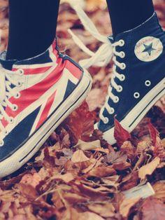 Union Jack converse