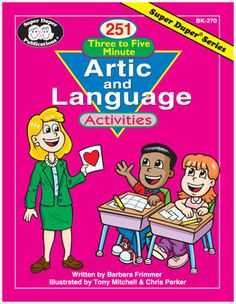 251 Three to Five Minutes Artic and Language Activities | Product Info