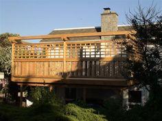 Pergola For Small Patio Modern Pergola, Deck With Pergola, Diy Pergola, Pergola Kits, Outside Living, Outdoor Living, Privacy Screen Deck, Backyard Privacy, Backyard Fences