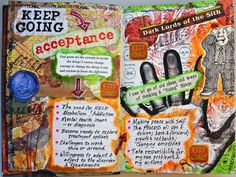 Excerpts from Health Art Journal on Behance