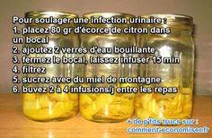 Vous cherchez un remède naturel pour soulager les infections urinaires ? Le citron est LE remède idéal. Voici la recette :-)  Découvrez l'astuce ici : http://www.comment-economiser.fr/citron-infections-urinaires.html?utm_content=buffer347ef&utm_medium=social&utm_source=pinterest.com&utm_campaign=buffer