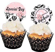 Free Printable Cupcake Toppers and Stickers