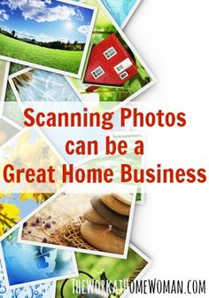 Want to make money scanning photos? Here are some tips on getting started including the initial investment, income potential, and resources to help!