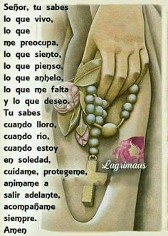 Catholic Prayers Daily, Spanish Prayers, Prayers For Healing, Miracle Prayer, Catholic Religion, Beautiful Prayers, God Prayer, Morning Prayers, Prayer Board