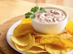 Creamy Salsa Dip - Just 4 ingredients and 10 minutes are all you need to whip up this creamy dip.