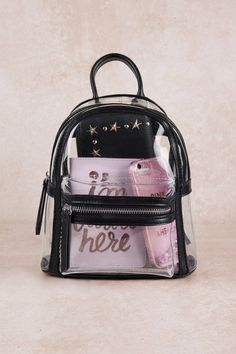 If you're looking for a cute black handbag or faux leather backpack, we've got you covered! Shop our cute and trendy bags, purses & more! Cute Mini Backpacks, Clear Backpacks, Stylish Backpacks, Faux Leather Backpack, Leather Fanny Pack, Leather Totes, Photographie Blonde, Fashion Bags, Fashion Backpack