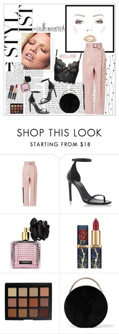 """""""black n pastel"""" by innalovesfashion ❤ liked on Polyvore featuring GUESS, Proenza Schouler, Yves Saint Laurent, Victoria's Secret, Morphe, Eddie Borgo, Humble Chic, outfit, chic and black"""
