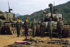 """A small selection of photographs taken by soldiers of the Tank Battalion of the US Army (armed with tanks """"Patton""""), which was part of the Korean War in the Infantry Division via Live Journal General Motors, Patton Tank, Tank Destroyer, Armored Fighting Vehicle, Military Pictures, Korean War, Vietnam War, Military History, Us Army"""