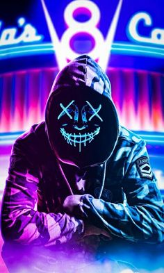 - Neon Hoodie Mask iPhone Wallpaper livewallpaperswid… iPhone Wallpape… – Iphone W - Bape Wallpaper Iphone, Joker Hd Wallpaper, Smoke Wallpaper, Hacker Wallpaper, Graffiti Wallpaper, Neon Wallpaper, Marvel Wallpaper, Cellphone Wallpaper, Mobile Wallpaper