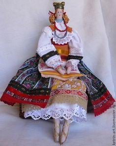 Народные куклы ручной работы. Ярмарка Мастеров - ручная работа Кукла в русском костюме. Handmade.