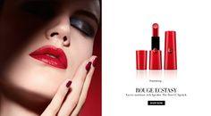 Saskia de Brauw for Giorgio Armani Beauty Campaign   FashionMention