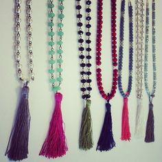 Tassel Necklaces by natalievivar on Etsy