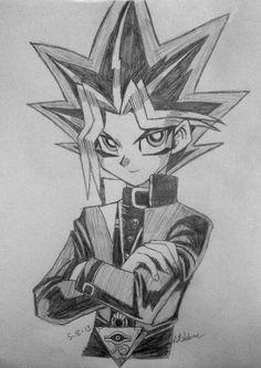 yugi yami deviantart yugioh yu gi oh drawing draw drawings sketches atem pharaoh hime card egypt