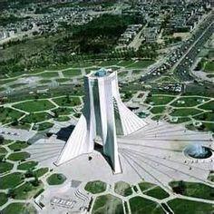 Iran, Teheran, Azadi tower