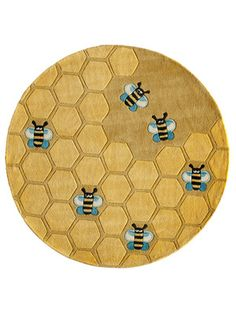 Momeni Rugs Lil Buzz Round Hand-Tufted Rug