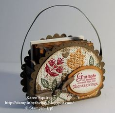 Stampin' By The Bay: Day of Gratitude Notecard Gift Set Part 1 - neat blog!