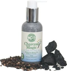 Charcoal Magic - BANISH DIRT, OIL, PURGE PORES and PROTECT with Morrocan Argan Oil & Black Pepper