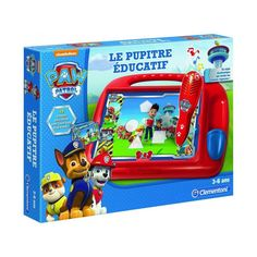 Le Pupitre Éducatif Pat' Patrouille - Taille : Taille Unique Paw Patrol Stickers, Kids Spiderman Costume, Ryder Paw Patrol, Car Themed Parties, Unicorn Rooms, Paw Patrol Birthday, Birthday Shirts, Cool Toys, Lunch Box
