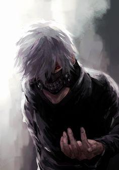 Character: Kaneki ken Anime: Tokyo Ghoul