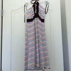 FINAL MARKDOWN!! NWT A'Gaci Summer Halter dress Size is large, but fits more like a medium. a'gaci Dresses