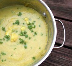Veganmisjonen: Blomkålsuppe med poff