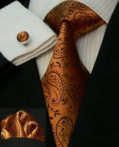 This might be the perfect orange for the guys. Not to mention my man love him some French Cuffs!