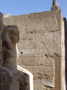 Temple at Luxor, Egypt - Travel Photos by Galen R Frysinger, Sheboygan, Wisconsin