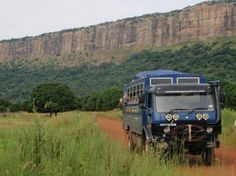 Beautiful escarpment we drive along from #GuineaBissau to #Guinea on our Overlanding West Africa #Dakar to #Freetown trip. Great photo from passenger Rob Kuhlman.