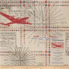 Tim Holtz Eclectic Elements Correspondence Transit Red