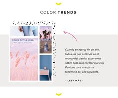 New on the blog! Branding, trends and lifestyle!!! This time color of the year. #colortrends #color #fashion #design #tendencias