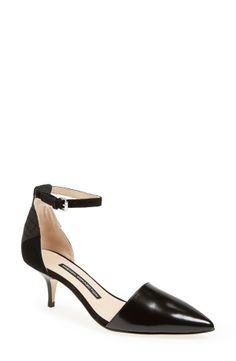 143a888bdef2 French Connection  Enora  d Orsay Leather Pump (Women)