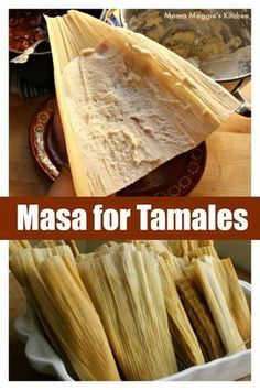 Making Masa for Tamales is a lot easier than most people think. Advice from a pro tamale maker: Make it ahead of time, even days before you assemble the tamales. It also freezes well. Check out the video and get this authentic Mexican recipe by Mama Maggie's Kitchen Masa For Tamales, How To Make Tamales, Beef Tamales, Homemade Tamales, Chicken Tamales, Mexican Tamales Recipe Beef, Authentic Mexican Recipes, Authentic Tamales Recipe, Mexican Food Recipes