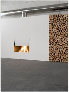 FIREPLACES - firewood - il canto del fuoco