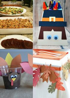 Thanksgiving Ideas - Hundreds for fun Thanksgiving Ideas.  Recipes, Thanksgiving decorations, Thanksgiving activities for the kids table and more. #Thanksgiving