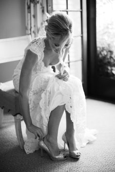 Gown. . hair. .photography. Gorgeous.   from Style Me Pretty | Gallery